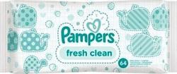 Pampers Babydoekjes Baby Fresh Navul 64st