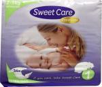 Sweetcare Premium Newborn Maat 1 2-5kg 36st