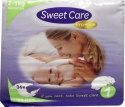 Sweetcare Ultradun Newborn Maat-1 36-luiers