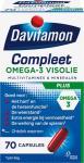 Davitamon Compleet Plus Omega 3 Visolie