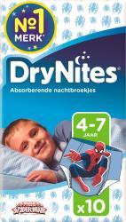Huggies Drynites Boy 4-7 Jaar 10st