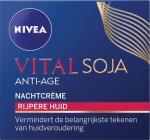 Nivea Vital Soja Anti-age Nachtcrème 50 Ml