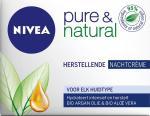 Nivea Pure & Natural Nachtcreme 50ml