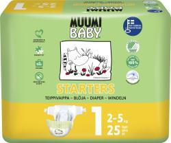 Muumi Baby Baby 1 Newborn 2-5kg 25st