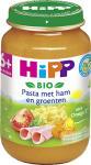 Hipp Bio 6 Maaltijd Pasta Met Ham En Groenten Vanaf6mnd