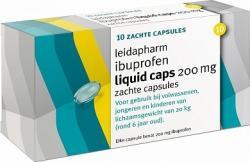 Leidapharm Ibuprofen 200mg Liquid Capsules