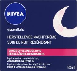 Nivea Visage Nachtcreme Herstellend Droge Gevoelige Huid