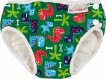 Imsevimse Wasbare Zwemluier Groen Dinos Newborn 4-6 Kg