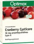 Optimax Cysticare Cranberry 40kt