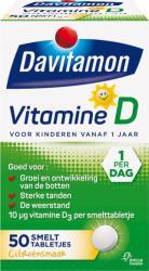 Davitamon Vitamine D Smelttablet Kind 50tab