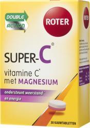Roter Super C Magnesium