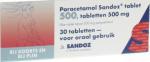 Sandoz Paracetamol Tablet 500 30st