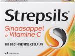 Strepsils Sinaasappel Vitamine C 24zt
