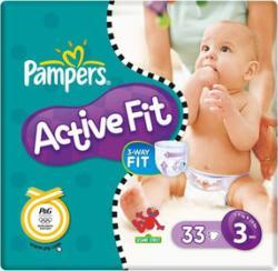 Pampers Active Fit Baby Luiers Maat 3 33 Stuks