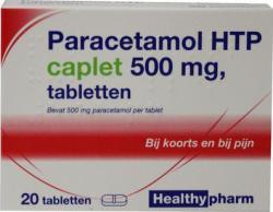Healthypharm Paracetamol Caplet 500 Hea A