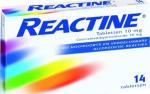 Reactine Anti Histaminicum 10mg