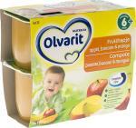 Olvarit Fruithapje 6 Appel Banaan Mango Vanaf 6mnd