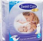 Sweetcare Premium Junior Maat 5 11-25 Kg 32st