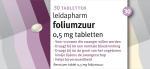 Leidapharm Foliumzuur 0,5mg Tabletten 30st