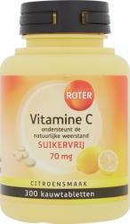 Roter Vitamine C 70 Mg Suikervrij