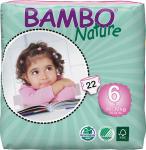 Bambo Nature Babyluier Xl 6 16-30kg 22st