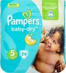 Pampers Baby-dry Luiers Maat 5 26 Stuks