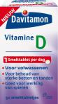 Davitamon Vitamine D Volwassen Smelttabletten 50 Stuks
