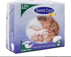 Sweetcare Ultradun Mini Maat-2 36-luiers