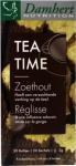 Damhert Tea Time Zoethoutthee 20+5 Stuks
