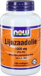 Now Lijnzaad Olie 1000 Mg