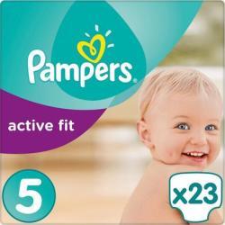 Pampers Active Fit Maat-5 Junior 11-23kg 23-luiers