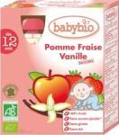 Babybio Knijpfruit Appel Aardbei Vanille