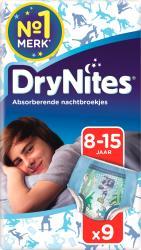 Huggies Drynites Boy 8-15 Jaar