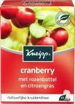 Kneipp Cranberry Thee Met Rozenbottel En Citroengras 15st