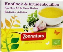 Zonnatura Bouillonblokjes Knoflookkruiden 11 Gram