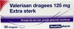 Healthypharm Valeriaan Extra Sterk 125 Mg