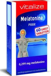 Vitalize Melatonine Puur 0299 Mg