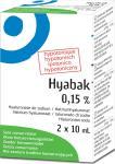 Hyabak Oogdruppels Duopack