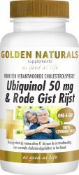 Golden Naturals Ubiquinol 50 Mg And Rode Gist Rijst