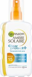 Garnier Ambre Solaire Zonnebrand Clear Spray Factorspf15