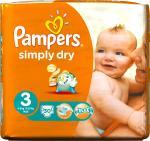 Pampers Baby Luiers Simply Dry Maat 3 30 Stuks