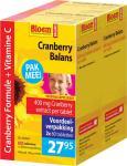 Bloem Cranberry Balans Duo 2 X 60 Capsules