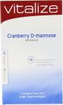 Vitalize Cranberry D Mannose Weekkuur 45 Caps 15 Tabl