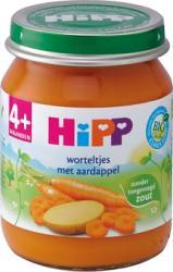 Hipp Bio 4 Maaltijd Worteltjes Met Aardappel Vanaf 4mnd
