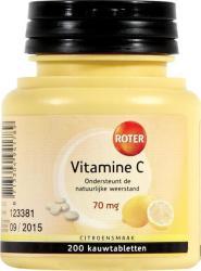 Roter Vitamine C 70 Mg Citroen