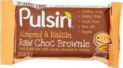 Pulsin Raw Choc Brownies 50g
