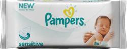 Pampers Babydoekjes Sensitive 56 Stuks