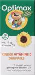 Optimax Kinder Natuurlijk Vitamine D Druppels
