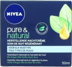 Nivea Pure En Natural Herstellend Nachtcrme