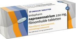Leidapharm Naproxen Natrium 220 Mg 10st